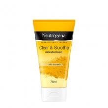 ניוטרוג'ינה® Clear & Soothe קרם לחות לעור הפנים