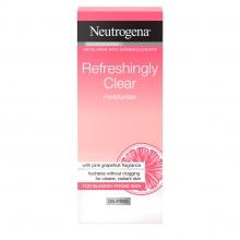 ניוטרוג'ינה® Refreshingly Clear  קרם לחות ללא שומן מרענן במיוחד בניחוח אשכולית ורודה