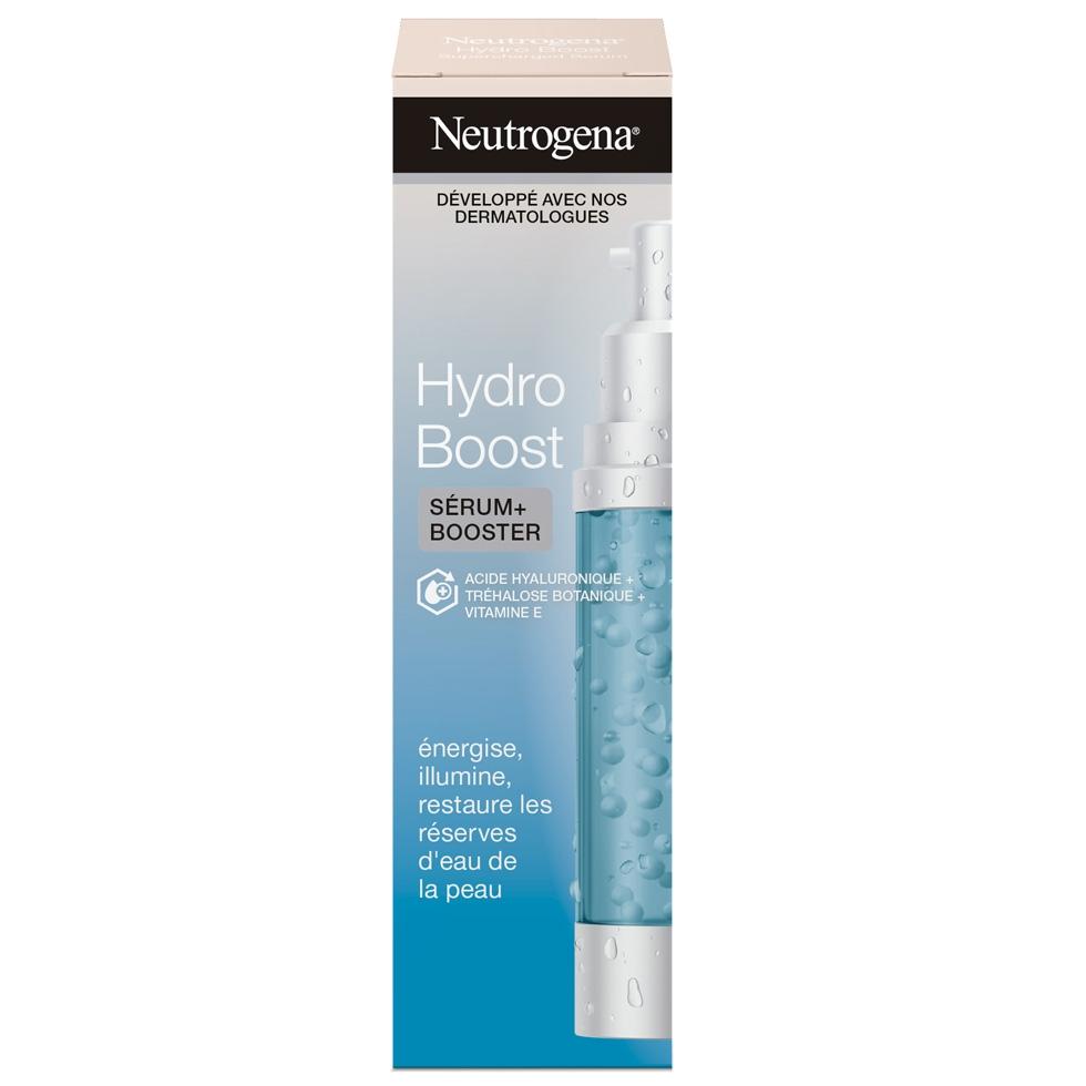 ניוטרוג'ינה  Hydro Boost ® סרום ממריץ ללחות מוגברת