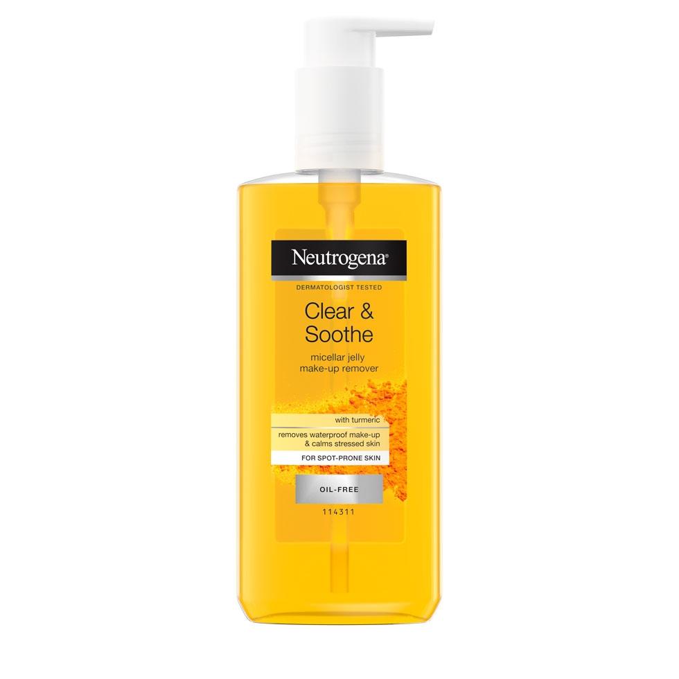 ניוטרוג'ינה ® Clear & Soothe ג'ל מיסלרי לניקוי והסרת איפור