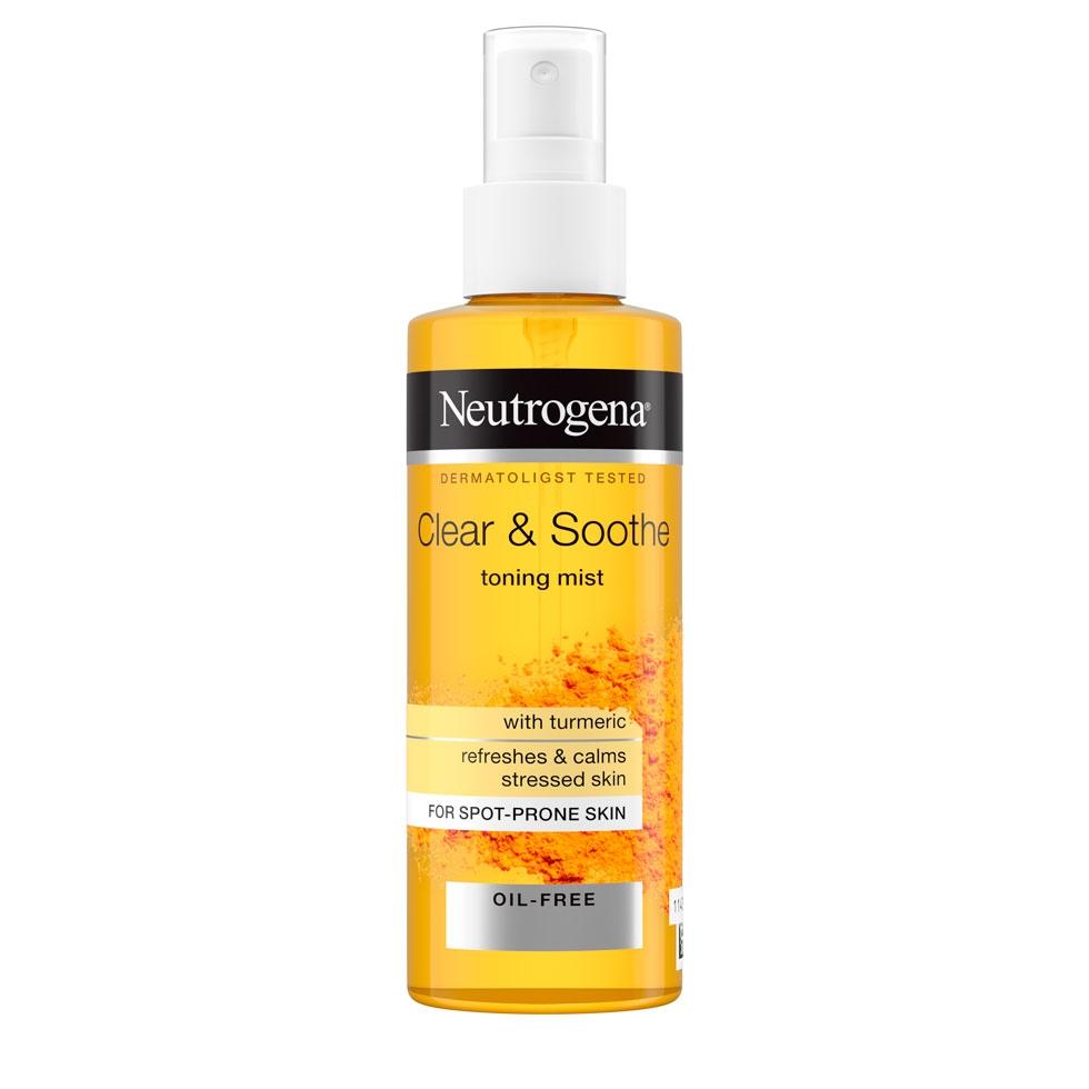 ניוטרוג'ינה® Clear & Soothe ספריי עדין לריענון וריכוך העור