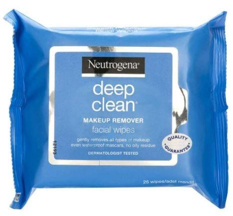 מדהים מגבונים להסרת איפור נטול שומן מסדרת ®Deep Clean   ניוטרוג'ינה® IK-18