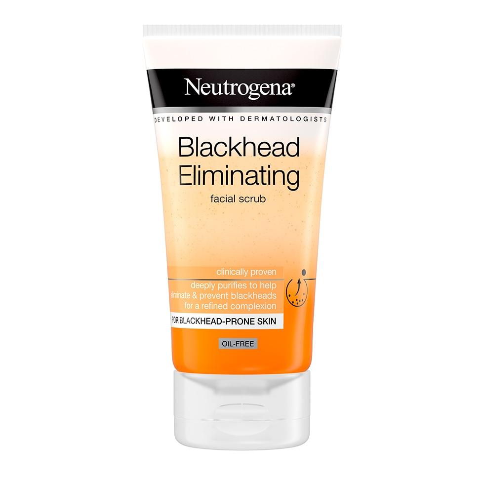 ניוטרוג'ינה® Blackhead Eliminating  תרחיץ גרגירים יומי להסרת ראשים שחורים