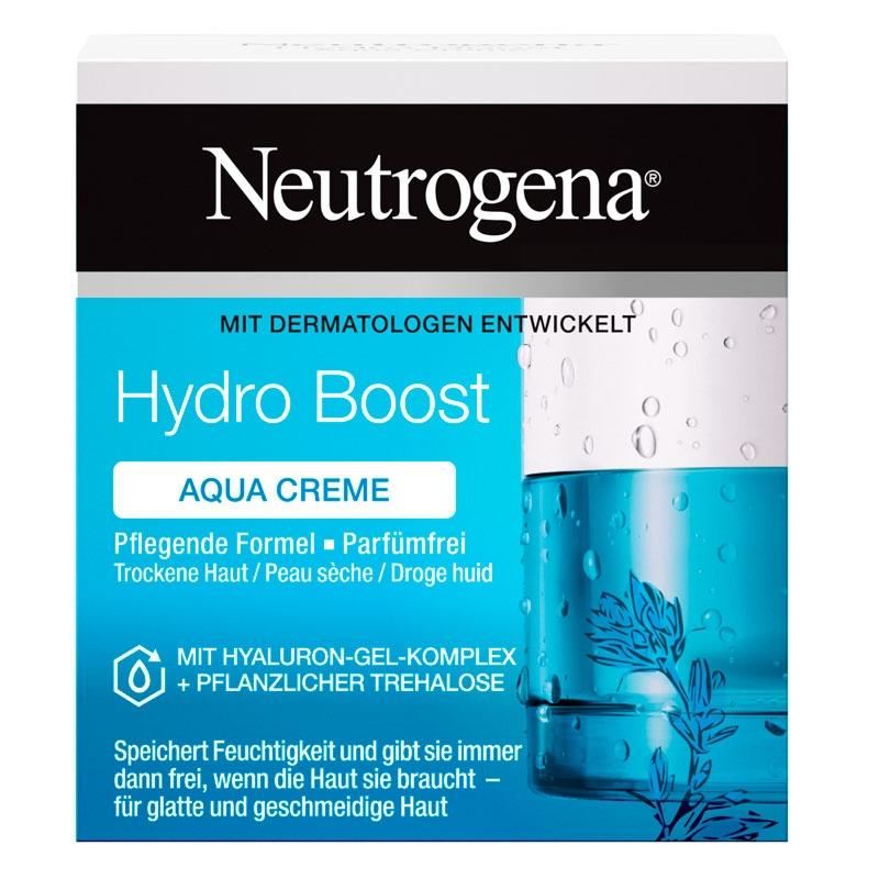 ניוטרוג'ינה® Hydro Boost קרם לחות לעור יבש