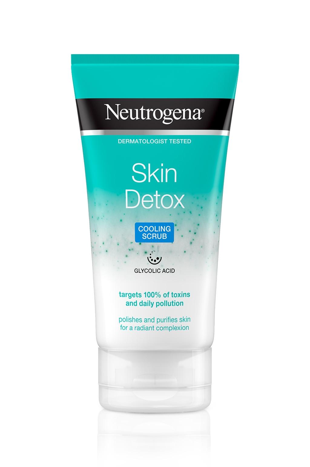 ניוטרוג'ינה®  Skin Detox תרחיץ גרגירים עם אפקט קירור